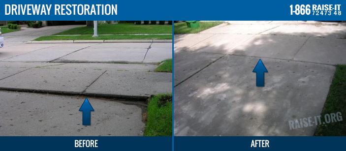 Rochester MI Concrete Leveling