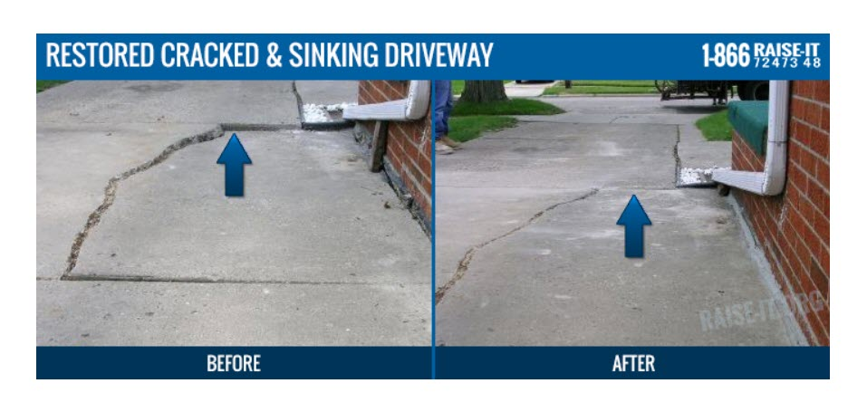 Michigan Concrete Slab Leveling