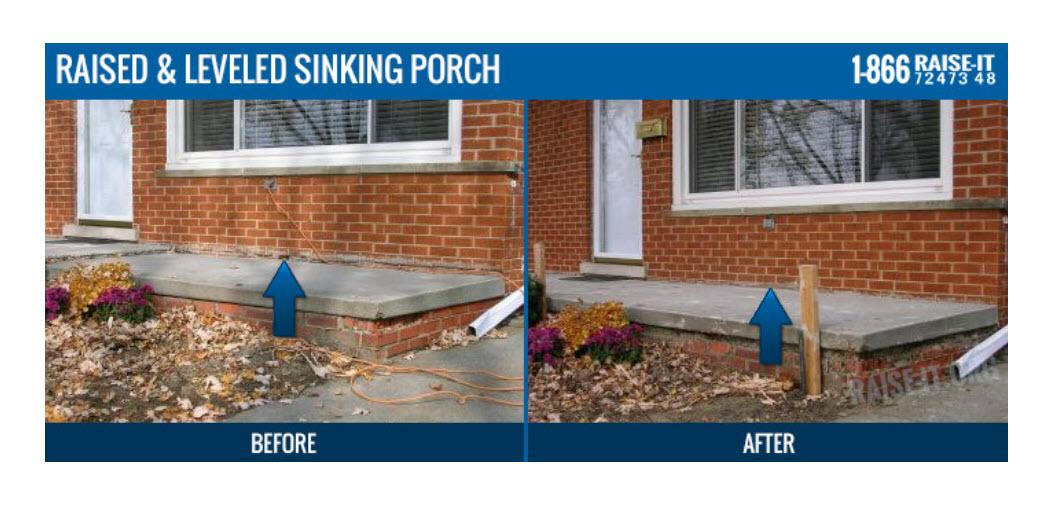 Michigan Porch Mudjacking